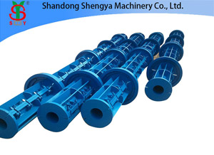 Cement Tube Making Machine Requires Careful Operation during the Running-in Period